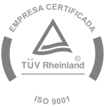 Empresa Certificada ISO:9001 | TÜV Rheinland®